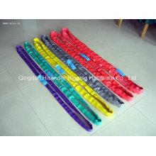 Eb-a Cinturón de elevación de eslinga con cinta, muchos colores