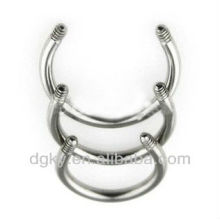 16 pièces de bijoux en acier inoxydable en acier inoxydable