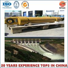 Cilindro hidráulico da represa, alta pressão e boa qualidade
