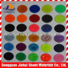 Cubrir reflexivo PVC colores para la ropa
