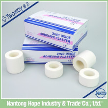 Fita adesiva de óxido de zinco colorida para uso médico