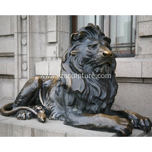 Outdoor Life Size Lion Sculpture For Sale
