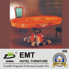 Table de salle à manger en bois à style rétro (EMT-FD07)