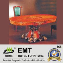 Ретро стиль деревянный стол обеденный стол (EMT-FD07)