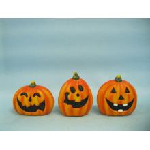 Calabaza de Halloween Arte y Artesanía de Cerámica (LOE2375-7)