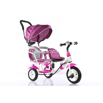 360 degrés rotation enfants tricycle