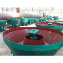 2014 Gold Ore Grinding Wet Pan Mill
