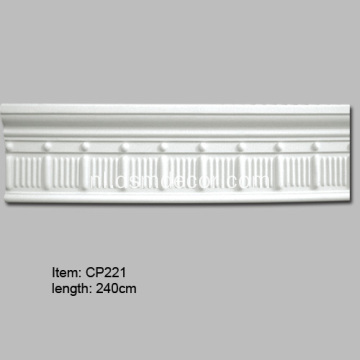 Polyurethaan Bead Barrel Panel Mouldings