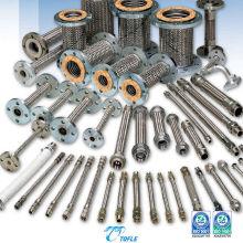 Mangueira de metal flexível para construção, uso industrial e tubulação geral. Fabricado pela Tofle Co., Inc. Made in Japan