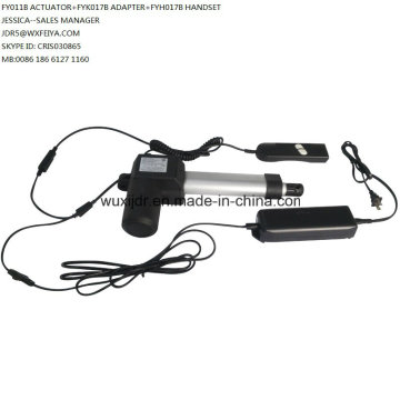 Remote Control Electric Linear Actuator 12V or 24V 6000n 200mm (FY011)
