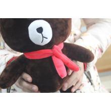 Brinquedos de pelúcia bebê urso marrom para atacado