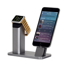 Mutli-Functions Aluminum Charging Dock Charger for Iwatch iPhone Se 7 7s 6 6s Plus