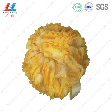 High quality exfoliating lace sponge ball