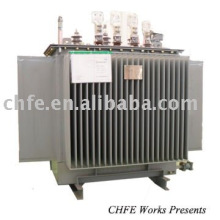 10kV Three Phase Oil Immersed Power Transformer S9-M-30~2500/10