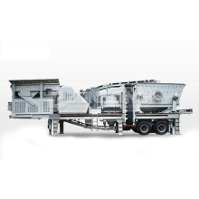 Approvisionnement Portable Mobile Cone Crusher Plant Prix
