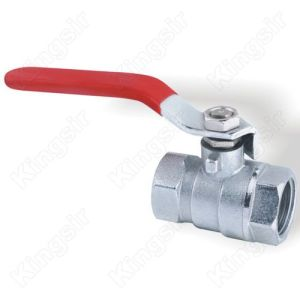 Chrome Plated Brass Ball Valve for Plumbing