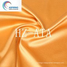 Polyester Dull Bridal Satin Fabric