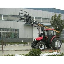 Tracteur avec fourche à balles TZ03DPM