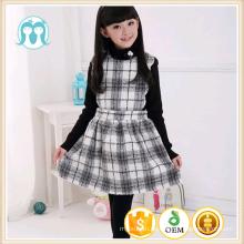 2017 Winter Mode Mädchen Kleid neuesten Kinder Kleid Designs Wolle Pullover Kleid