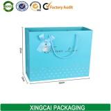 Guangzhou Custom light bule paper gift bag