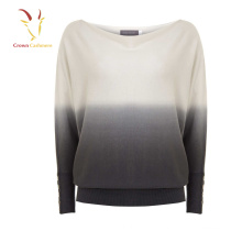 Mesdames Batwing Cachemire Loose Sweater Suit