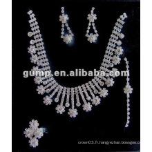 Dernier ensemble de bijoux de mariée (GWJ12-541)