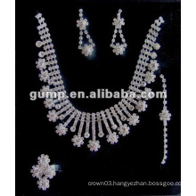 Latest bridal wedding jewelry set (GWJ12-541)
