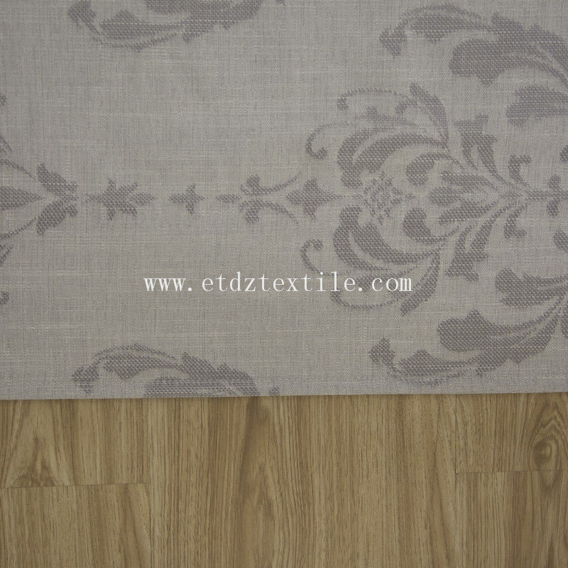 Grey color curtain fabric 6020#