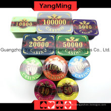 Acryl Poker Chip Set (760PCS) Ym-Focp004