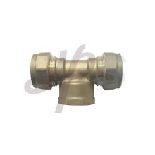encaixe de compressão para tubo de cobre