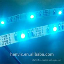 Luz de tira llevada multicolora multicolora del USB 5v del rgb del lumen alto