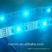 high lumen rgb multicolor waterproof USB 5v led strip light