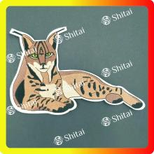 Tiger heat seal patches OEM cheaper