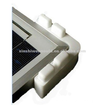 coin en plastique pour le moulage solaire