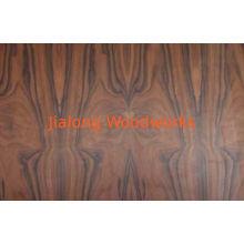 0.45 Mm Brown Santos - Rosewood Dyed Wood Veneer For Furniture