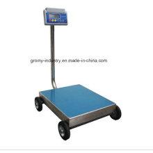 Electronic Digital Portable Plataforma de banco de escalas con ruedas Ec-P