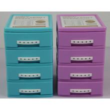 Два цвета 4 слоя пластика кабинет для домашних хозяйств