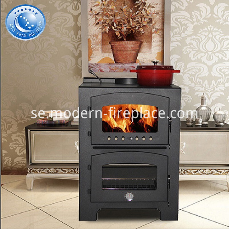 Log Wood Burner Stove Fireplace Cookers