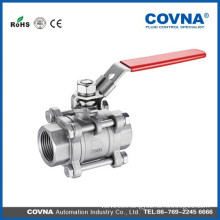 3PC Ball valve with Stainless Steel