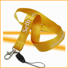 Woven Logo Nylon Custom Lanyards with High Quality
