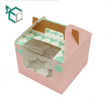 Conception de boîte de gâteau pliant de lien supplémentaire de Guangzhou en gros