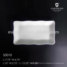 55010 Chaozhou placa de prato de coelho de porcelana com impressão