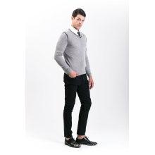 Herrenmode Cashmere Blend Sweater 18brsmm008