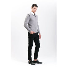 Camisola de Mistura de Cashmere para Moda Masculina 18brssm008