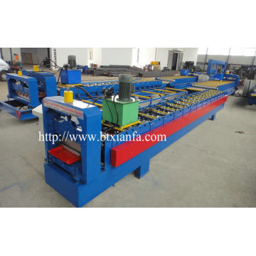 Color Steel Sheet Roof Tile Metal Roll Forming Machine