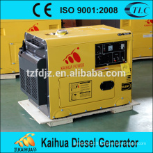 Hot sale portable copper wire winding home used 5kva silent diesel generator set