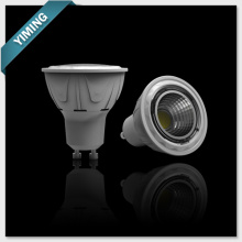 5W COB LED Spot Light, Plastic & Aluminum, 430lm, PF>0.5, GU10