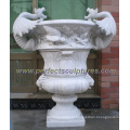 Stone Marble Garden Flower Pot (QFP269)