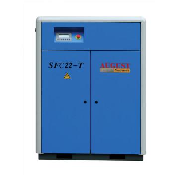 Compresor de aire de tornillo 22kw 30hp AGOSTO SFC22 20hp