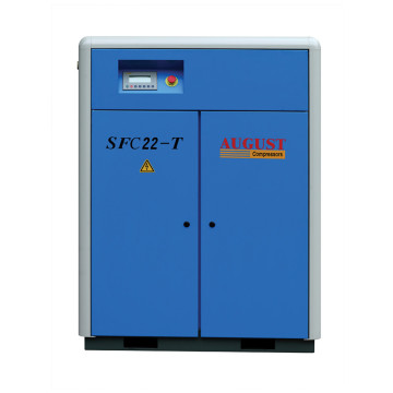 22kw AUGUST SFC22 screw air compressor 30HP